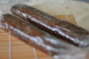 """Колбаска """"Mинутка"""" из печенья - фото шаг 3"""