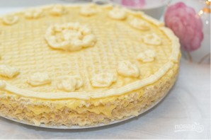 Торт с готовыми коржами - фото шаг 5
