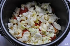 Грибы тушеные с овощами - фото шаг 3