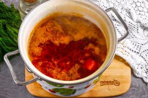 Борщ с помидорами - фото шаг 6