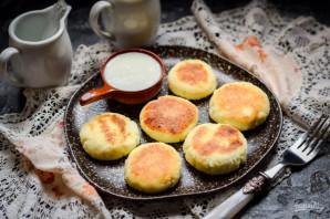 Сырники без муки и яиц - фото шаг 7