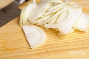 Говядина с баклажанами и помидорами в духовке - фото шаг 2