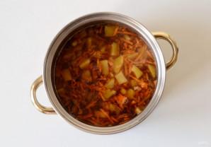 Гороховый суп с копченой паприкой - фото шаг 7