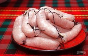 Колбаски для гриля - фото шаг 9