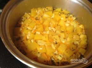 Суп-пюре с тыквой и сельдереем - фото шаг 8