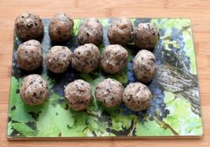Тефтели индюшиные с грибами - фото шаг 5