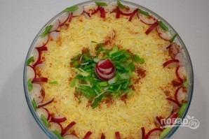 Салат с тунцом и яйцами - фото шаг 5
