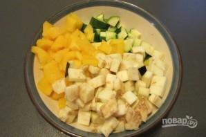 Паста с овощным рагу - фото шаг 1