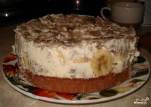 Творожно-банановый торт - фото шаг 3
