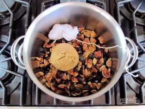 Пряное инжирное варенье - фото шаг 2