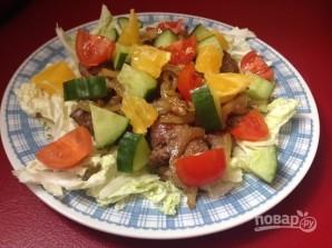 Рецепт печеночного салата - фото шаг 10