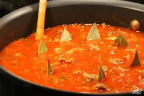 Томатно-мясной соус - фото шаг 11