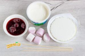 Творожный десерт с маршмеллоу - фото шаг 1