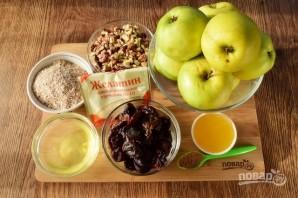 Диетический яблочный торт без выпечки - фото шаг 1