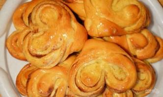 Медовые плюшки с корицей и сахаром - фото шаг 8