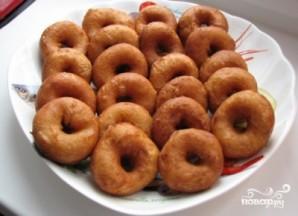 Пончики с чесноком - фото шаг 8