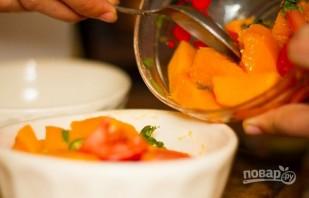 Острый салат с манго и помидорами - фото шаг 6