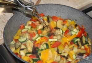 Овощное рагу на сковороде - фото шаг 3