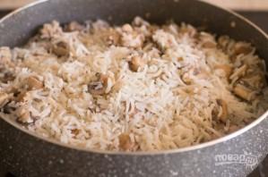 Рис с грибами - фото шаг 7