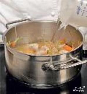 Суп из индейки с овсяными лепешками - фото шаг 3
