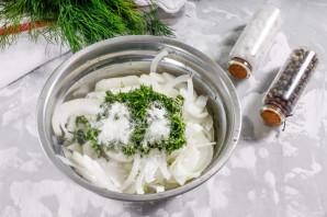 Маринованный лук для салата - фото шаг 3