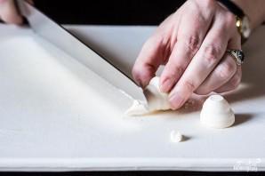 Печенье в виде грибочков - фото шаг 5