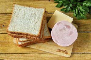 Бутерброды на гриле - фото шаг 1