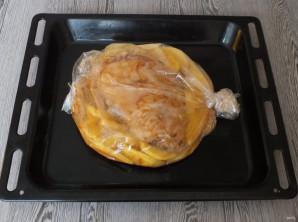 Рулька с картошкой в духовке - фото шаг 8