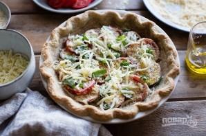 Пирог с томатами - фото шаг 8