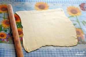 Торт из готового слоеного теста - фото шаг 1