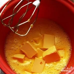 Кекс с бразильским орехом, вареньем и шоколадом - фото шаг 3