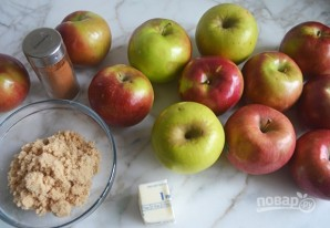 Сладкий яблочный соус - фото шаг 1