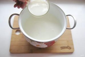 Домашний сыр без яиц - фото шаг 3