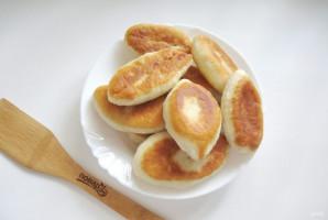 Жареные пирожки с картофелем и печенью - фото шаг 10