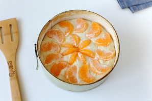 Пирог с мандаринами - фото шаг 9