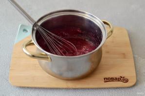 Постный вишневый торт - фото шаг 10