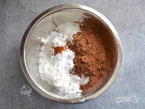 Шоколадное печенье с перцем - фото шаг 1