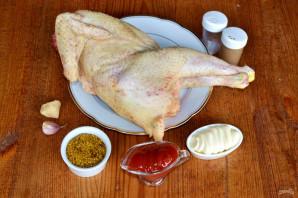 Курица на мангале целиком - фото шаг 1