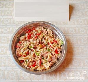 Острая закуска из свиных ушей - фото шаг 6