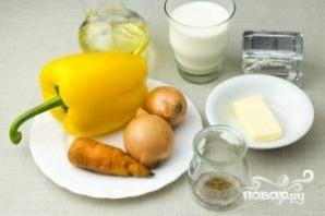 Суп из болгарского перца - фото шаг 1