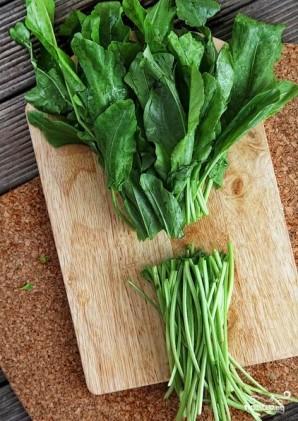 Зеленый суп с щавелем - фото шаг 6