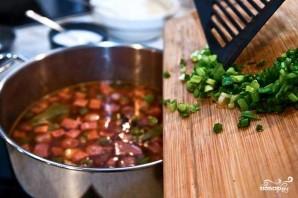Солянка с маслинами и колбасой - фото шаг 9