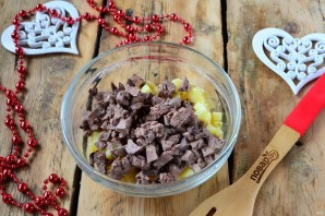 Новогодний салат в Год Собаки - фото шаг 5