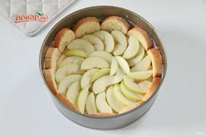Яблочная шарлотка с хлебом - фото шаг 5