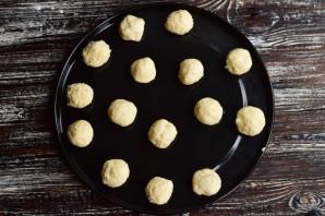 Творожные пончики в духовке - фото шаг 8