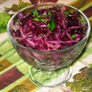 Салат из красной капусты - фото шаг 5