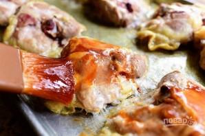Курица в духовке с соусом барбекю - фото шаг 4