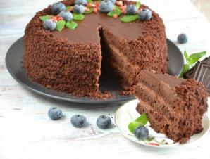 """Торт """"Шоколадный бархат"""" - фото шаг 23"""