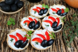 Закуска с рикоттой и оливками - фото шаг 8