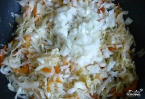 Постные картофельные зразы с капустой - фото шаг 2